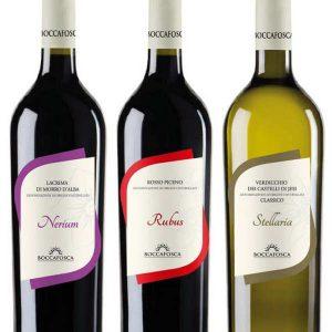 Nuove Etichette Per I Nostri Vini Linea Natura Boccafosca